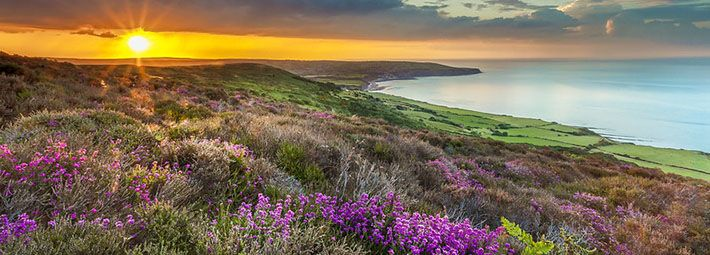 Coastal view towards Robin Hood's Bay by Ebor Images