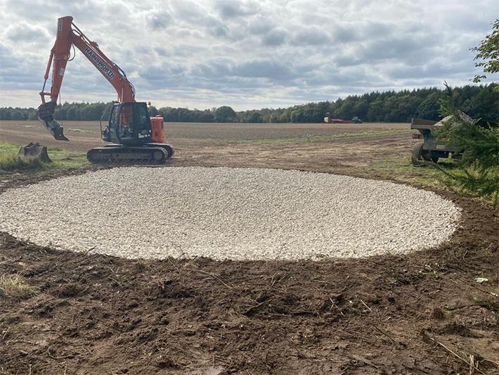 Dew Pond renovation