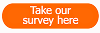 Take our survey here button