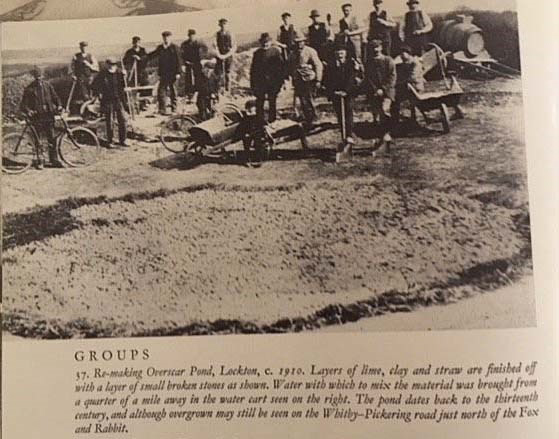 Old photo in a local history book;